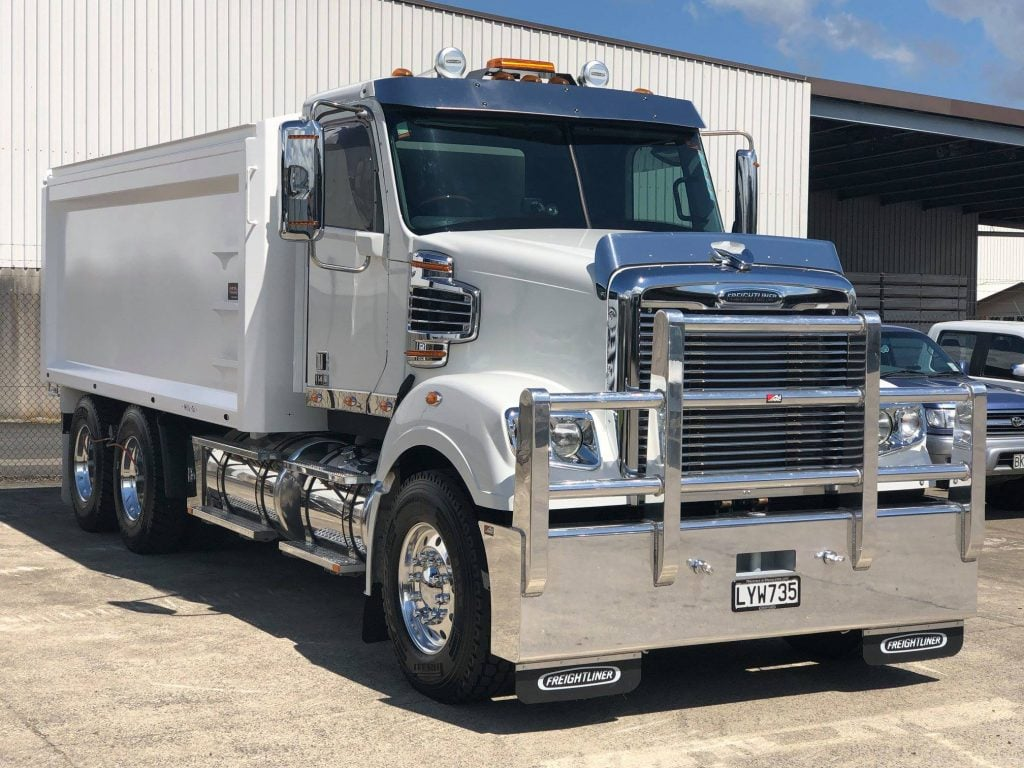 Freightliner Coronado With 4 9m Steel Tipping Body Mills Tui