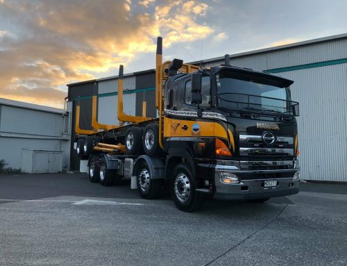 Logging gear & 4 axle multi trailer for Whakaari Logistics