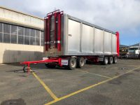 refurbished Mills-Tui alloy billet wood trailer