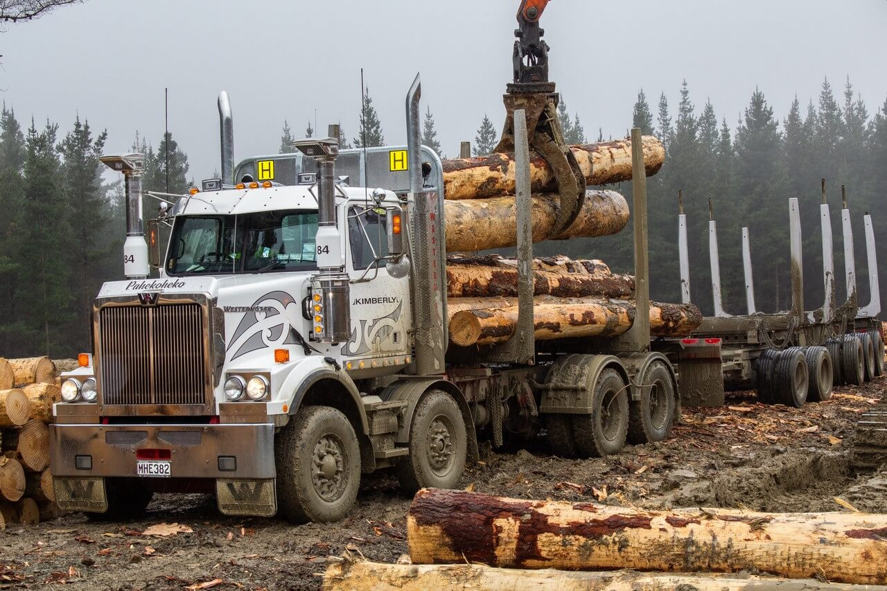 Mills-Tui log truck set up Western Star 02