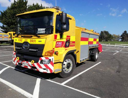 Fire appliance fabrication for Horowhenua Fire Dept