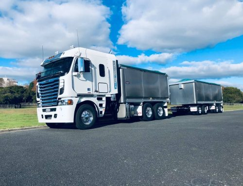 One of NZ's last Freightliner Argosys